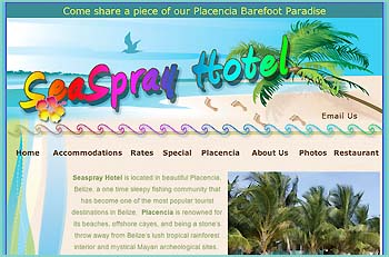 Centrally located within Placencia village, Seaspray Hotel offers a variety of accommodations, ranging from our Seaside Cabana for those who want the comforts of home to our Economy Rooms for those on a budget.� Our range of rooms is perfect for accommodating student and other large groups.
