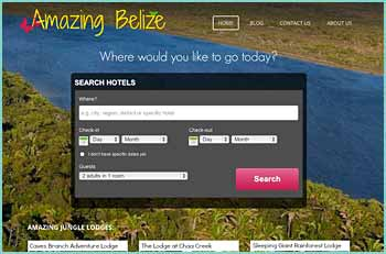 So if you're looking for a hotel in Ambergris Caye, San Pedro, Caye Caulker, Placencia, Hopkins or San Ignacio, we can help you.  If you are looking to stay at Chaa Creek, Ian Anderson's Caves Branch Jungle Lodge, Maruba Spa and Resort, or any of the other fabulous unique lodges found all over Belize, we can help you.  If you are looking for budget hotels, unique Bed and Breakfasts, cheap hotels, luxury hotels, hostels, beach hotels, scuba diving hotels or any other kind of hotel, we can help you.