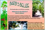 Our extensive experience in Belize translates into custom arrangements for your perfect vacation. As you will learn, or have already seen, Belize has it all and Barb's Belize specializes in only Belize. Our mission is getting the right people to the right places in Belize. Our love & knowledge of this country will easily make your stay in Belize take on it's own unique personality - one you have not seen in a vacation before. So please browse freely and contact Barb's Belize for any travel questions you may have.