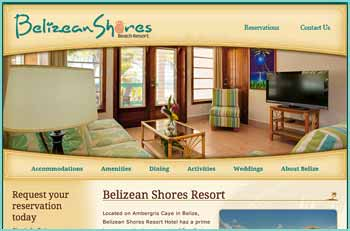 Located on Ambergris Caye in Belize, Belizean Shores Resort Hotel has a prime location on the beach north of San Pedro. Yet it's only a short boat ride away from the Shops and Restaurants. You'll find this Belize vacation paradise the ideal therapy for those who just want to get away from it all! We offer a long list of activities including snorkeling, sailing, fishing, guided eco-tour excursions and scuba diving.