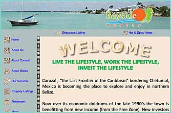 Corozal Bayside Realty will provide you with all the support needed to make a wise purchase or marketing decision. We have served Belize professionally for over 14 years and will coordinate your real estate transaction with the necessary professionals to your satisfaction. The friendship of those we serve has been the progress and foundation of our success.