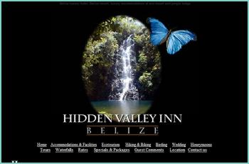 Hidden Valley Inn, a luxury hotel with only 12 cottages, is located on a 7200 acre private reserve in the Mountain Pine Ridge area of Belize. This intimate eco resort offers quality accommodation, fine food and attentive service in a natural environment unspoiled by man. The flora, wildlife and birding here are like no place on earth. In 2008 Hidden Valley Inn will be celebrating 20 years as one of the most established and luxurious resorts in Belize.