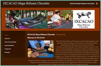 IXCACAO Maya Belizean Chocolate is a Farm to Bean process chocolate products. managed and operated by Maya Belizean in Belize. Owner Juan Cho and Abelina Cho in the village of San Felipe in the country of Belize, our products are made using all organic Cacao Beans that is processed without the use of any artificial flavouring or synthetic stabilizers. Visitors can experience Chocolate but also teaching our children about healthy eating and appreciating our natural resources through chocolate.