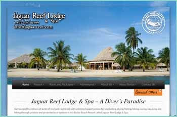 Surrounded by millions of acres of reef and rainforest with unlimited opportunities for snorkelling, diving, fishing, biking, caving, kayaking and hiking through pristine and protected eco-systems is this Belize Beach Resort called Jaguar Reef Lodge & Spa. This Belize beachfront resort is a haven of relaxation with a spa treatment set in a serene, calm and refined atmosphere. It offers amenities such as, beachfront accommodations, beachfront dining, kids swimming pool, pool with swim up bar, tiki bar, lounge bar, hot tub, spa, kayaks, bicycles, PADI 5 Star Center and water sports adventures.