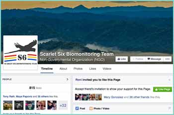 Scarlet Six Biomonitoring Team is a registered Belizean Non-Governmental Organization protecting endangered species in their habitat. S6 seeks to protect endangered species in their habitat, inspire Belizeans to value wildlife, and teach future generations to act now for these species.