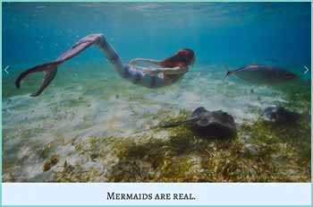 Sirenalia: fantastic silicone mermaid tails, beautiful mermaid performances, magical mermaid transformations & stunning underwater photography.