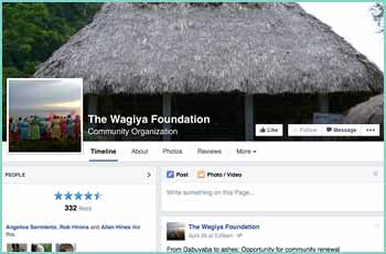 The Wagiya Foundation is a Belize based, non-profit organization with a mission to strengthen and connect Garifuna communities by providing support towards projects that conserve sustainable and cultural traditions.