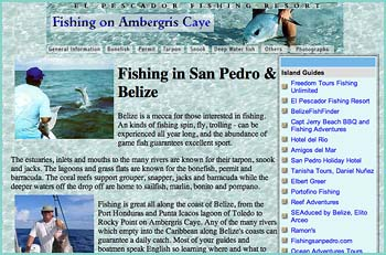 The waters surrounding Ambergris Caye, Belize abound with fish and the island boasts some of the best fishing guides in the country. Here are fishing season information, and other goodies...