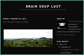 Finding the brains. Making the soup. Serving the lust.
