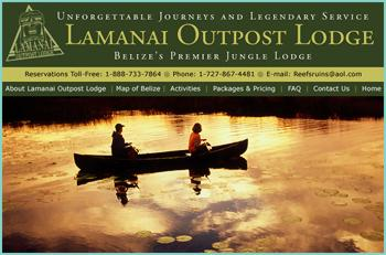 Lamanai Outpost Lodge is situated on the banks of a 28 mile long spring fed lagoon amid the remnants of a major Maya city. The lodge is surrounded by an incredible variety of habitats that facilitate unsurpassed nature-based and soft-adventure activities that depart right from your cabaña's doorstep without the need for day-trips. The Outpost is consistently utilized by high-end travel companies and is widely recognized as one of Belize's finest jungle lodges.
