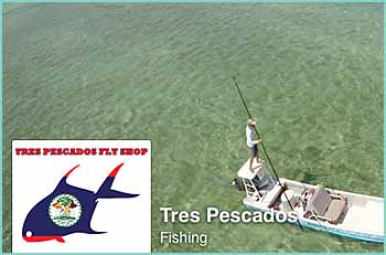 Tres Pescados is Belize's ONLY full service fly shop. Along with providing guided fly-fishing trips & charters throughout the country, we offer rentals, rod repairs, the best flies and a full retail selection. A little local knowledge never hurt either!