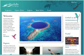 Experience Luxury in Belize... Absolute Belize is a collective of intimate, exclusive and luxurious residences on the islands and mainland of Belize, where you can experience unrivalled service in exquisite surroundings. Adventure by day, luxury by night. Come and visit nature's best kept secret... before the secret gets out.
