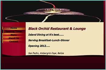 Black Orchid Restaurant & Lounge, Island Dining at it's best... Serving Breakfast-Lunch-Dinner, Opening 2012