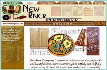Incorporated in 1987 succeeding Mr. Joseph B. Loskot's logging, sawmilling, and wood carving operation that was started in 1975. New River Enterprises Limited is committed to conservation and well-managed forests while utilizing the timber resources to its fullest in the production products that include - Plywood, Particle-ply, a wide range of doors, hardwood flooring, paneling, molding, and immaculately manufactured furniture. Our furniture is hand made and crafted to create a quality of its own. Made from genuine solid wood species reflecting unique grain patterns and colors that are carefully selected by our artisans. Our exquisite and elaborate dining sets are a must. They become heirlooms that have been and continue to be passed on from generation to generation.