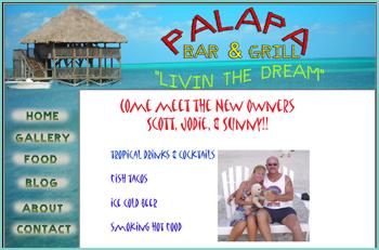 Come on out and hang out at The Palapa Bar and enjoy the cool breezes on the Caribbean overlooking the reef while sipping your favorite ice cold drink of choice. Come and see why Scott and Jodie have taken big steps to say we are LIVING THE DREAM in paradise.