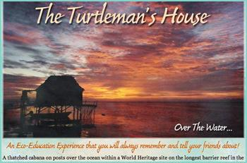 A thatched cabana on posts over the ocean within a World Heritage site on the longest barrier reef in the Western Hemisphere with coral patches just 200 feet in front of the house. Home of a marine biologist (Turtleman) for over 20 years built by hand with beachcombed 2 inch thick tropical hardwood lumber and a handcut coconut palm leaf thatched roof. Decorated with unique treasures found beachcombing and diving such as Portuguese glass fishing floats and notes in a bottle that crossed the Atlantic, old bottles from an 18th Century wreck, shells of sea creatures (found empty on the reef), and tropical orchids and palms collected from our land.An Eco-Education Experience that you will always remember and tell your friends about!