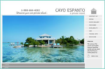 Discover your own private island at Cayo Espanto, where paradise and luxury come together as one. This new, five star, world class resort is for the discriminating few who demand the best life has to offer. We invite you to spend enchanting evenings and unforgettable days overlooking the Caribbean while our staff overlooks nothing. Located three miles from San Pedro in the calm waters of the Western Caribbean, off the coast of Belize, Cayo Espanto is truly a spectacular and private retreat.