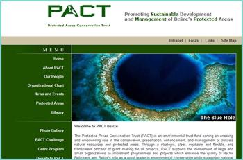 The Protected Areas Conservation Trust (PACT) is an environmental trust fund serving an enabling and empowering role in the conservation, preservation, enhancement, and management of Belize's natural resources and protected areas. PACT supports the involvement of large and small organizations to implement programmes and projects which enhance the quality of life for Belizeans and Belize's role as a world leader in environmental conservation while supporting national developmental goals.